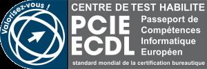 Centre habilité PCIE (PAsseport de Compétences Informatique Européen)