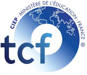 Logo TCF - Test de Connaissance du Français - TCF ANF (accès à la nationalité française) - TCF Québec - TCF TP (Tout Public)