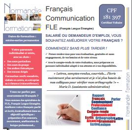 Formations en français, orthographe, communication écrite, Français Langue Etrangère.